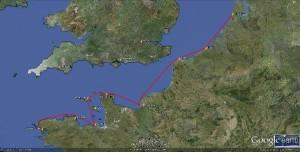 2. ETAP 2 - 680 Nm  Amsterdam - Camaret Sur Mer