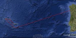 4.ETAP 4 - 1400 Nm - Vigo - Ponta Delgada