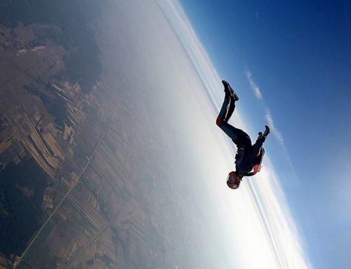 Skoki ze spadochronem – Marcin Zimnowłodzki
