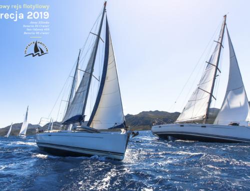 Rejs flotyllowy — Grecja 2019