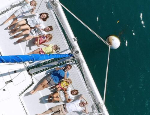 Katamaran na Karaibach – z dziećmi pod żaglami